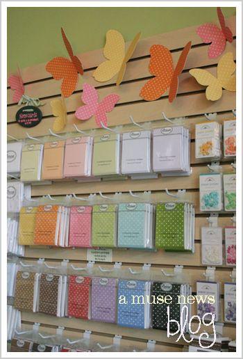 Notecard wall