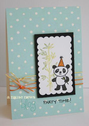 Party time panda