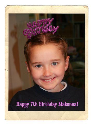 Makenna birthday