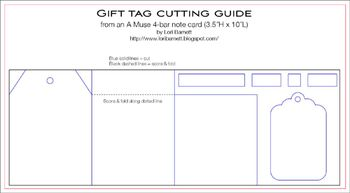 Lori Gift Tag Cutting Guide