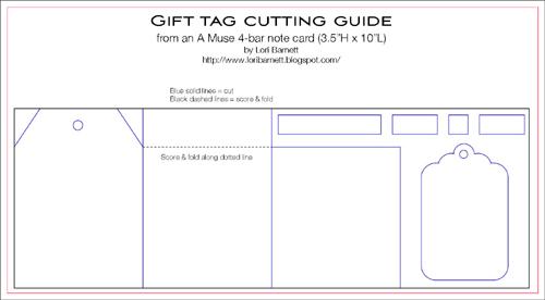 Lori Gift Tag Cutting Guide