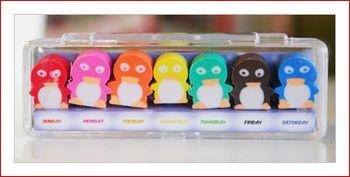 Penguin eraseres