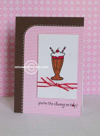 Milkshake card