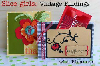 Slice girls vintage findings