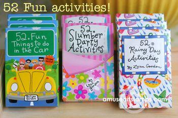 52 fun activities