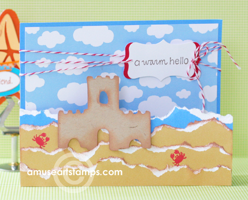 Summertime with Slice card 1