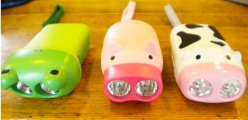 Animal flashlights