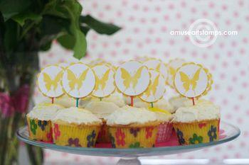 ER Lemon cupcakes