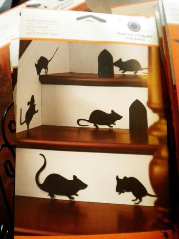 Mice silhouettes