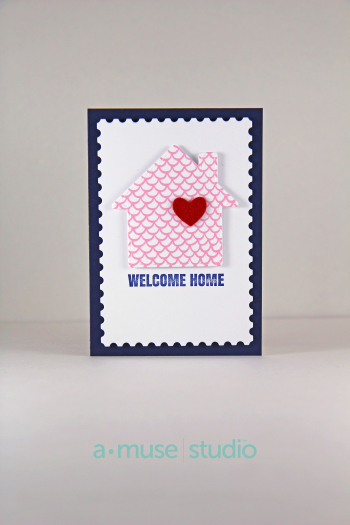 A Muse Studio Gingerbread House die welcome home