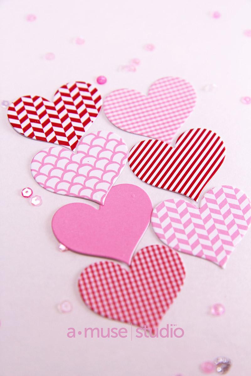 A Muse Studio Feb paper hearts