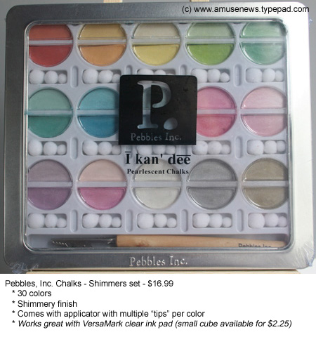 Pebbles_chalks_shimmers_for_sale